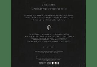 Chris Carter - ELECTRONIC AMBIENT REMIXES VOLUME 3  - (CD)