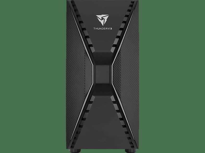 AEROCOOL Cronus V1 PC-Gehäuse, Schwarz