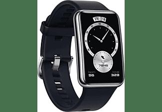 HUAWEI Watch Fit Elegant (Stia-B29) Smartwatch Kunststoff und Metallrahmen Elastomer, 130-210 mm, Midnight Black