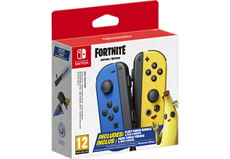 NINTENDO Joy-Con 2er-Set Fortnite Edition Controller Blau/Gelb