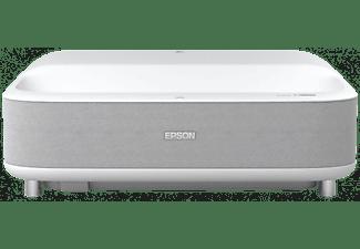 Proyector - Epson EH‑LS300W, 3600 lm, Full HD, Láser, USB-A, Mini-USB tipo B, HDMI, LAN, Blanco