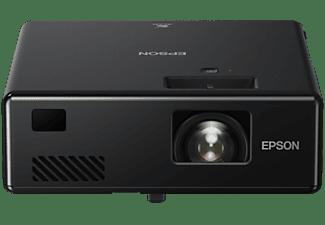 Mini proyector - Epson EF-11, 1000 lm, Full HD, Láser, USB-A, USB-B, HDMI, Miracast, Salida Mini-Jack, Negro