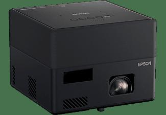 Mini proyector - Epson EF-12, 1000 lm, Full HD, Láser, USB-A, USB-B, HDMI, Miracast, Altavoz Yamaha, Negro