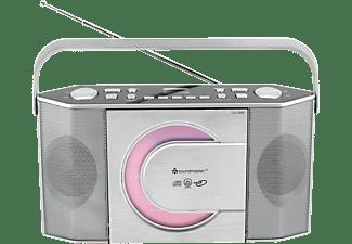 SOUNDMASTER RCD1755SI Radio, Silber