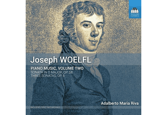Adalberto Maria Riva - Piano Music Vol.2  - (CD)