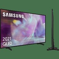 "TV QLED 55"" - Samsung QE55Q60AAUXXC, UHD 4K, Smart TV, HDR10+, Tizen, Motion Xcelerator, Control de voz, Negro"