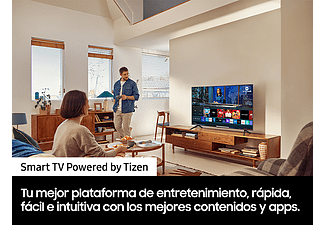 "TV LED 55"" - Samsung UE55AU7175UXXC, UHD 4K, Crystal UHD, Smart TV, HDR10+, Tizen, Dolby Digital Plus, Negro"