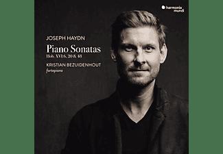 Kristian Bezuidenhout - Klavierkonzerte 1,3 & 4  - (CD)
