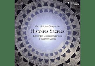 Ensemble Correspondances, Sébastien Daucé - CHARPENTIER HISTOIRES SACREES  - (CD + DVD Video)