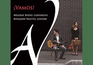 Melodie Ruvio, Benjamin Valette - Vamos!  - (CD)