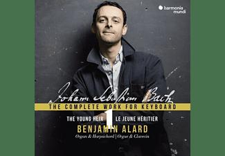 Benjamin Alard - Sämtliche Werke Für Orgel & Cembalo  - (CD)