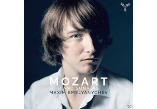 Maxim Emelianitchev - Klaviersonaten  - (CD)