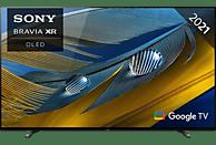SONY XR-55A80J OLED TV (Flat, 55 Zoll / 139 cm, OLED 4K, SMART TV, Google TV)