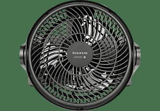 Ventilador de sobremesa - Taurus Ice Brise Mini, 30 W, 2 Velocidades, Inclinación ajustable 90º, Negro