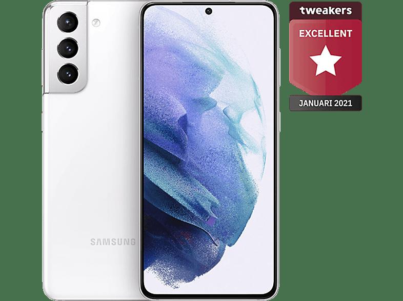 SAMSUNG Smartphone Galaxy S21 5G 256 GB Phantom White (SM-G991BZWGEUB)