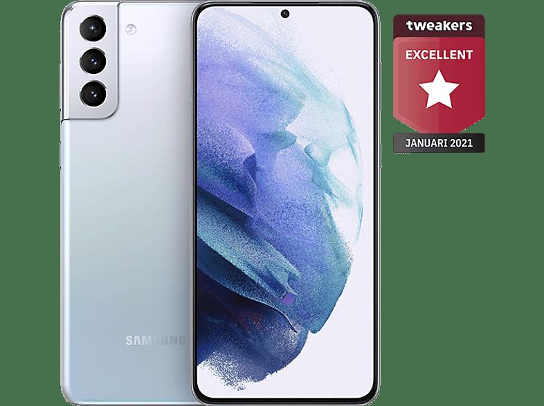 SAMSUNG Smartphone Galaxy S21+ 5G 128 GB Phantom Silver (SM-G996BZSDEUB)