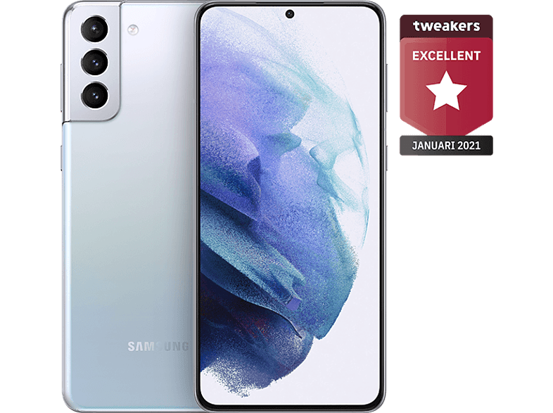 SAMSUNG Smartphone Galaxy S21+ 5G 256 GB Phantom Silver (SM-G996BZSGEUB)