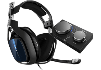ASTRO GAMING A40 TR + MixAmp Pro TR for PS4, PS5 & PC, Over-ear Gaming Headset Schwarz