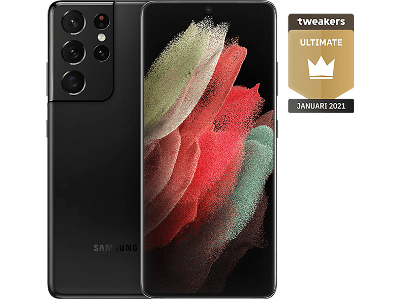 SAMSUNG Smartphone Galaxy S21 Ultra 5G 128 GB Phantom Black (SM-G998BZKDEUB)