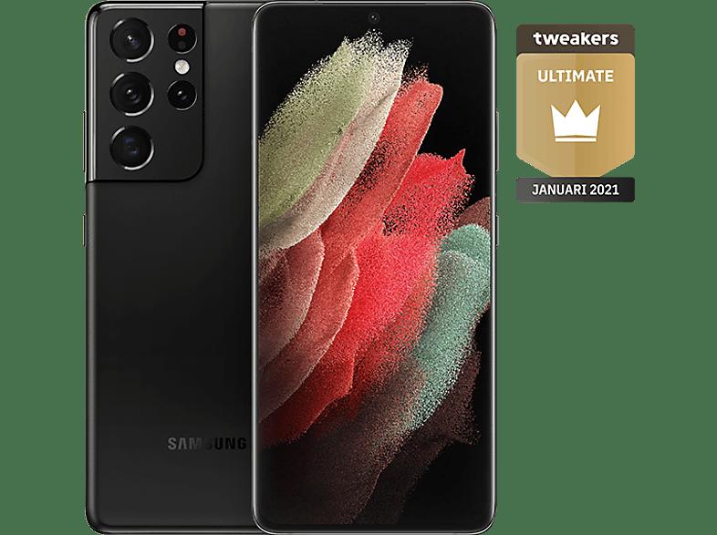 SAMSUNG Smartphone Galaxy S21 Ultra 5G 512 GB Phantom Black (SM-G998BZKHEUB)