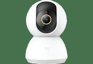 Cámara de vigilancia IP - Xiaomi Mi 360° Home Security Camera 2K, 1296p, Alexa, Google Assistant, 110º, Blanco