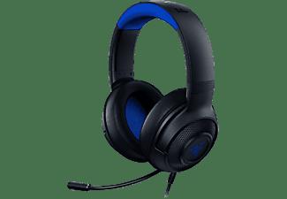 Auriculares con cable - Razer Kraken X, Para Consola PS4/Xbox, De diadema, Micrófono, Negro