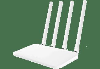 Router inalámbrico - Xiaomi Mi Router 4C N300, WiFi, USB, Ethernet, Blanco