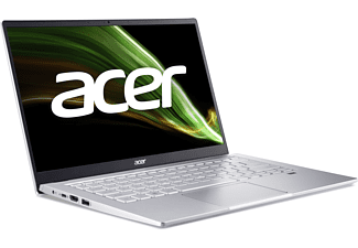 ACER Swift 3 (SF314-43-R8QH) mit Tastaturbeleuchtung, Notebook mit 14 Zoll Display, AMD Ryzen™ 5 Prozessor, 8 GB RAM, 256 GB SSD, AMD Radeon Grafik, Silber
