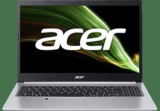 ACER Aspire 5 (A515-45-R44F) mit Tastaturbeleuchtung, Notebook mit 15,6 Zoll Display, AMD Ryzen™ 5 Prozessor, 16 GB RAM, 512 GB SSD, AMD Radeon Grafik, Silber