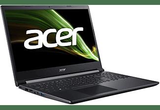 ACER Aspire 7 (A715-42G-R0XB) mit Tastaturbeleuchtung, Notebook mit 15,6 Zoll Display, AMD Ryzen™ 5 Prozessor, 8 GB RAM, 512 GB SSD, GeForce GTX 1650, Schwarz