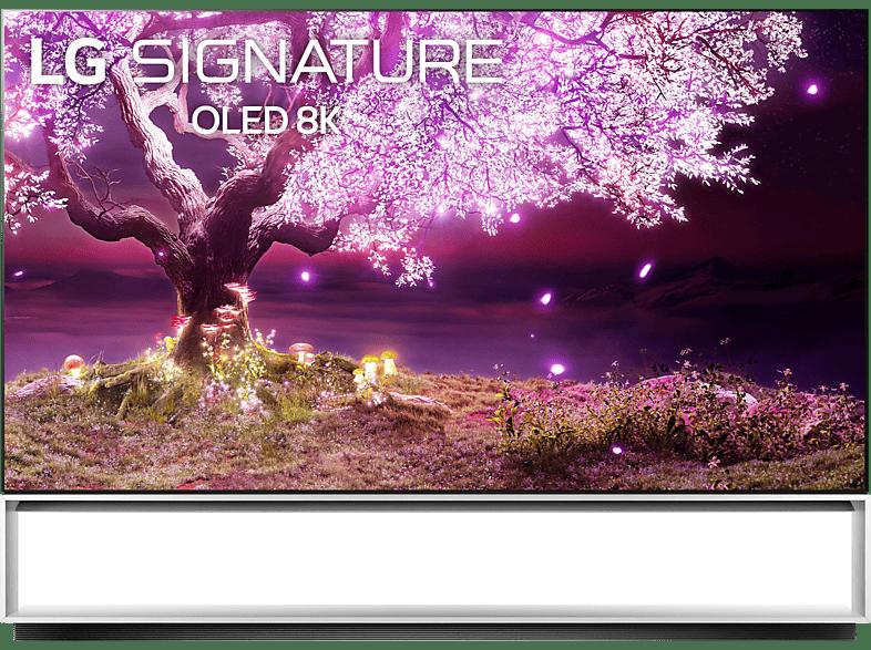 Abbildung LG signature OLED88Z19LA OLED TV (Flat, 88 Zoll / 222 cm, UHD 8K, SMART TV, webOS 6.0 mit ThinQ)