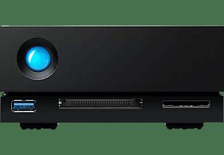 LACIE 4TB HDD NAS Gehäuse 1big Dock Thunderbolt 3, Schwarz