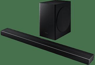 Barra de Sonido - Samsung 2020 HW-Q60T, DolbyDigital 5.1, Q Symphony, Subwoofer inalámbrico, Negro