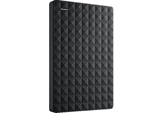 Disco duro 4 TB - Seagate 4TB Expansion Portable Drive, Externo, Negro