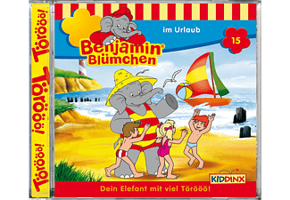 Benjamin Blümchen - Im Urlaub (15) [CD]