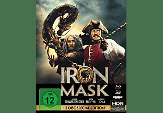 Iron Mask 4K Ultra HD Blu-ray + 3D Blu-ray + Blu-ray