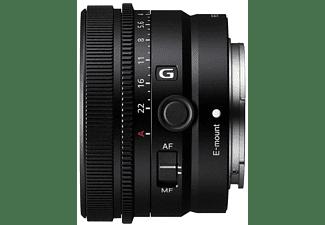 SONY SEL40F25G Vollformat - 40 mm f/2.5 G-Lens, FHB, IF, Circulare Blende, DMR (Objektiv für Sony E-Mount, Schwarz)