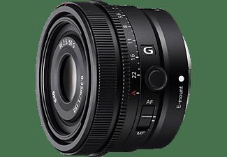 SONY SEL50F25G Vollformat - 50 mm f/2.5 G-Lens, FHB, IF, Circulare Blende, DMR (Objektiv für Sony E-Mount, Schwarz)