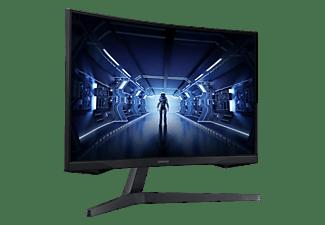 "Monitor gaming - Samsung Odyssey LC27G55TQWRXEN, 27"" WQHD, Curvo, 1 ms, 144 Hz, FreeSync Premium, HDR10, Negro"