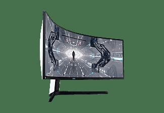 "Monitor gaming - Samsung Odyssey LC49G95TSSUXEN, 49"" DQHD, Curvo, 1ms, 240Hz, FreeSync Premium Pro, HDR, Negro"