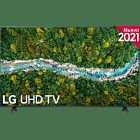 """TV LED 55"""" - LG 55UP77006LB.AEU, UHD 4K, QuadCore, webOS 6.0, Smart TV, Asistentes de voz, AI Sound, Negro"""
