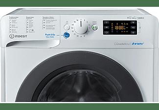 Lavadora secadora - Indesit BDE 961483X WK SPT N, 9 kg/6 kg, 1400 rpm, Woolmark, Wash&Dry, 85 cm, Blanco