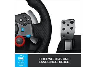 LOGITECH G29 Driving Force für PS5, PS4 und PS3, Lenkrad, Schwarz