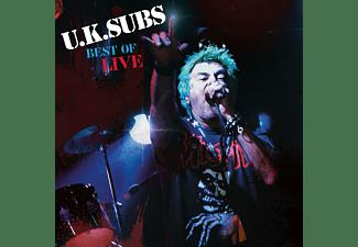 Uk Subs - Best Of Live  - (Vinyl)