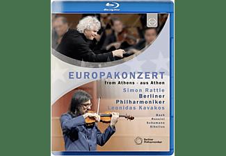 BERLINER PHILHARMONIKER / SIMON RATTLE / LEONIDAS - Berliner Philharmoniker-Europakonzert 2015  - (Blu-ray)