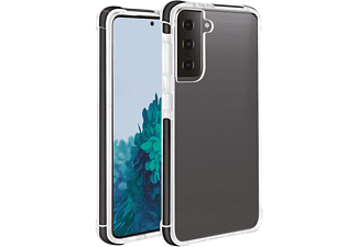 VIVANCO Rock Solid, Backcover, Samsung, Galaxy S21+, Transparent/Schwarz