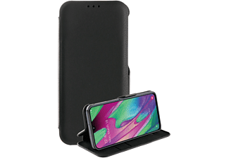 VIVANCO Casual Wallet, Bookcover, Samsung, Galaxy A40, Schwarz