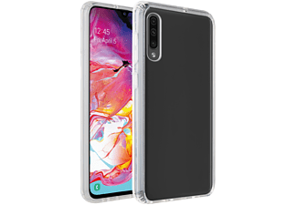 VIVANCO Safe & Steady, Backcover, Samsung, Galaxy A70, Galaxy A70S, Transparent