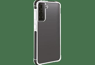 VIVANCO Rock Solid, Backcover, Samsung, Galaxy S21, Transparent/Schwarz