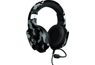 TRUST GXT 323C Carus, Over-ear Gaming Headset Camouflage Schwarz